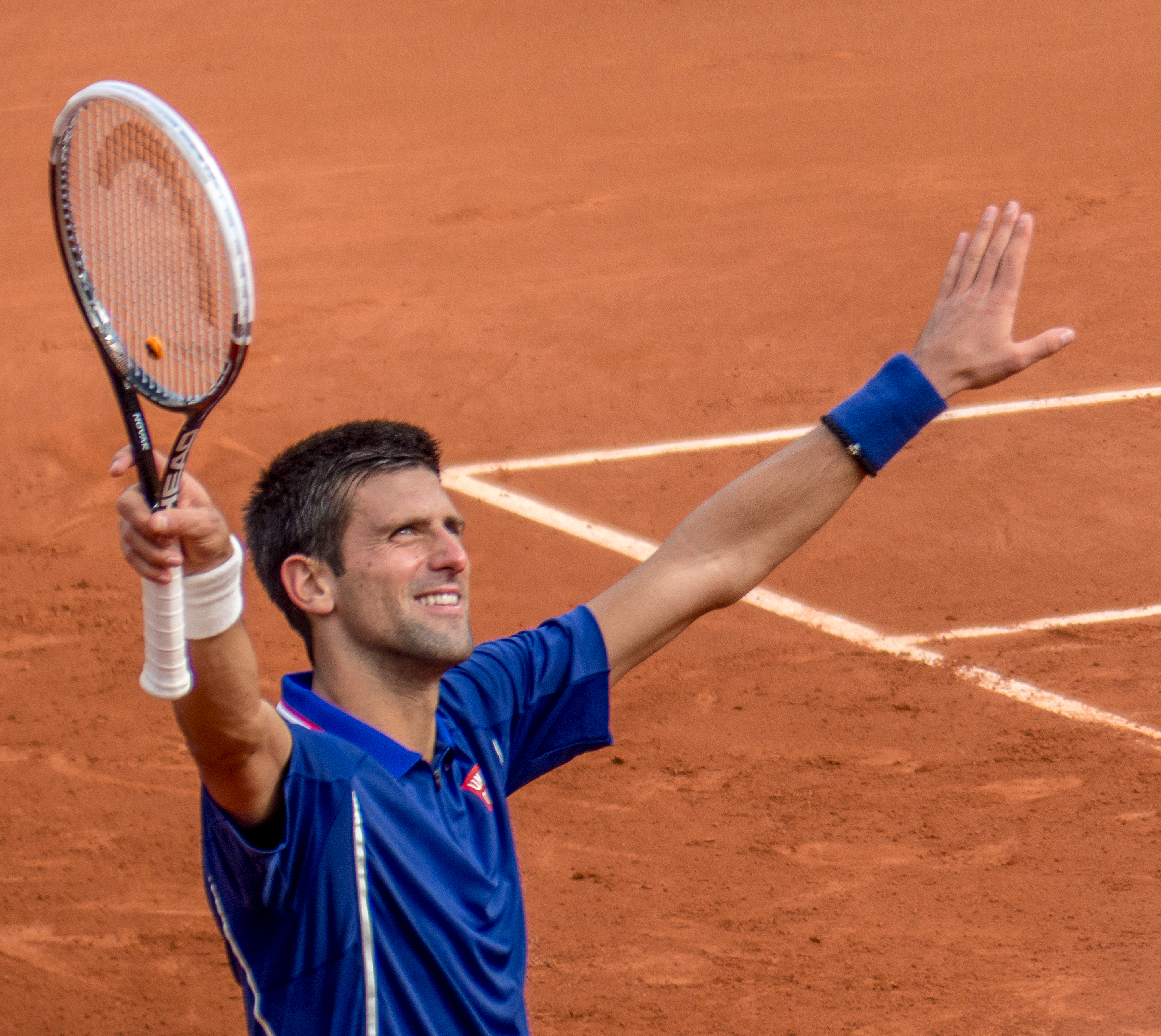 Novak Djokovic; athletics, embodyism